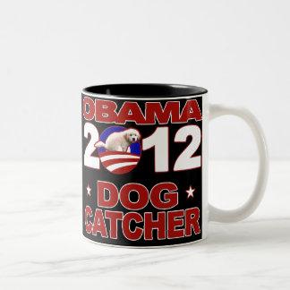 Engranaje de la campaña de Obama 2012 Taza De Dos Tonos