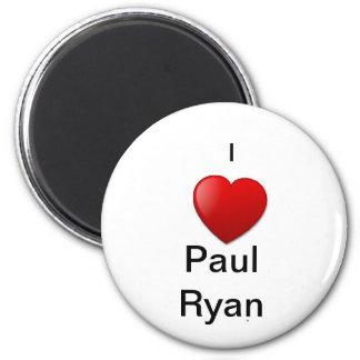 Engranaje de la campaña de Paul Ryan Imán Redondo 5 Cm