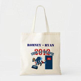 Engranaje de la campaña de Romney-Ryan Bolsa