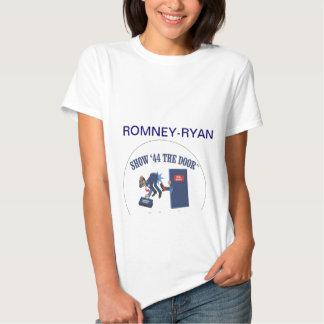 Engranaje de la campaña de Romney-Ryan Playeras
