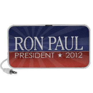 Engranaje de la campaña de Ron Paul iPhone Altavoces