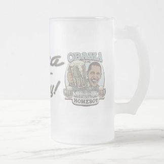 Engranaje de la cerveza del Homeboy de Obama Tazas