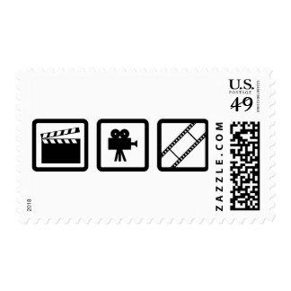 engranaje de la cinematografía sello