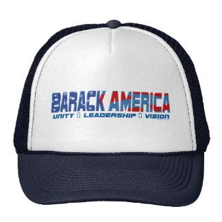 Engranaje de la dirección de Barack América Gorros
