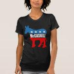 Engranaje de la elección de CLAIRE MCCASKILL Camiseta