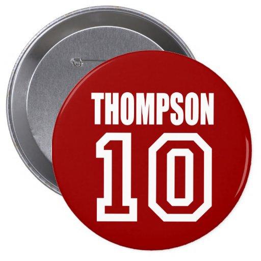 Engranaje de la elección de FRED THOMPSON Pin Redondo 10 Cm