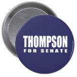 Engranaje de la elección de FRED THOMPSON Pin