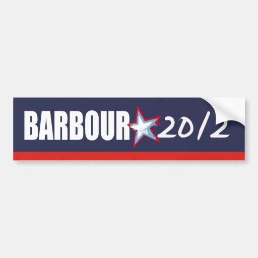 Engranaje de la elección de HALEY BARBOUR Pegatina Para Auto