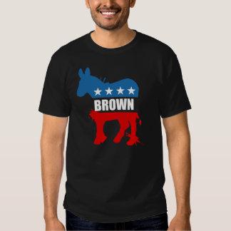 Engranaje de la elección de JERRY BROWN Playera