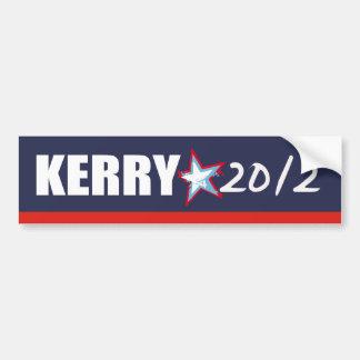 Engranaje de la elección de JOHN KERRY Etiqueta De Parachoque