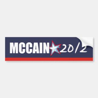 Engranaje de la elección de JOHN MCCAIN Pegatina Para Auto