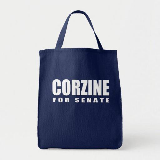 Engranaje de la elección de JON CORZINE Bolsas De Mano