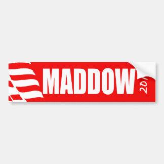 Engranaje de la elección de MADDOW Pegatina De Parachoque
