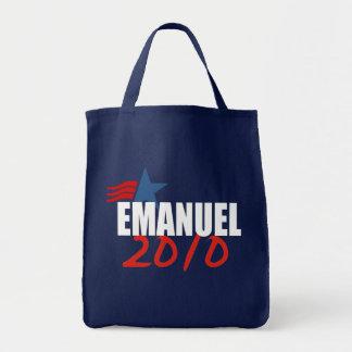 Engranaje de la elección de RAHM MANUEL Bolsa Lienzo