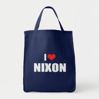 Engranaje de la elección de RICHARD NIXON Bolsa De Mano