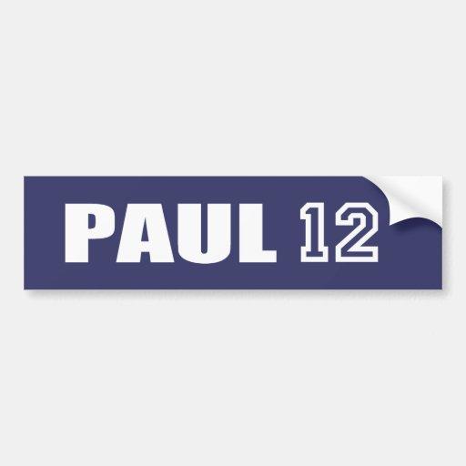 Engranaje de la elección de RON PAUL Pegatina Para Auto