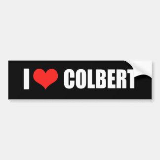 Engranaje de la elección de STEPHEN COLBERT Pegatina Para Auto