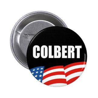 Engranaje de la elección de STEPHEN COLBERT Pin Redondo 5 Cm