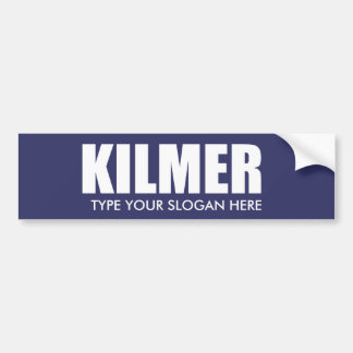 Engranaje de la elección de VAL KILMER Etiqueta De Parachoque