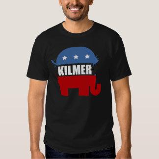 Engranaje de la elección de VAL KILMER Playera