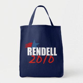 Engranaje de la elección del ED RENDELL Bolsa Lienzo