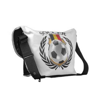 Engranaje de la fan del fútbol 2016 de Bélgica Bolsas Messenger