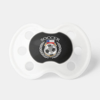 Engranaje de la fan del fútbol 2016 de Chile Chupetes Para Bebes