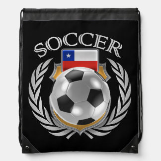 Engranaje de la fan del fútbol 2016 de Chile Mochilas