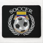 Engranaje de la fan del fútbol 2016 de Colombia Alfombrillas De Raton