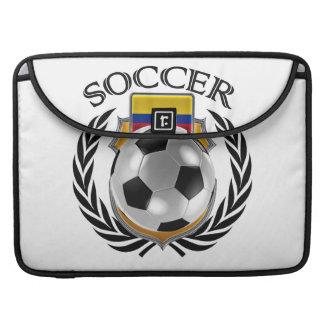 Engranaje de la fan del fútbol 2016 de Colombia Funda Macbook Pro