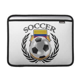 Engranaje de la fan del fútbol 2016 de Colombia Fundas MacBook