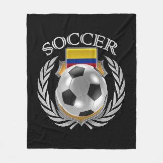 Engranaje de la fan del fútbol 2016 de Colombia Manta Polar