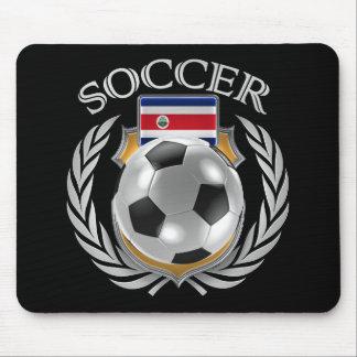 Engranaje de la fan del fútbol 2016 de Costa Rica Mouse Pads