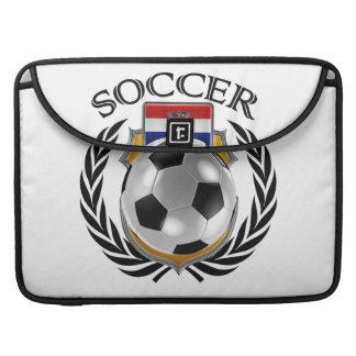 Engranaje de la fan del fútbol 2016 de Croacia Fundas Para Macbook Pro