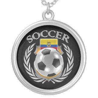 Engranaje de la fan del fútbol 2016 de Ecuador Colgante Redondo