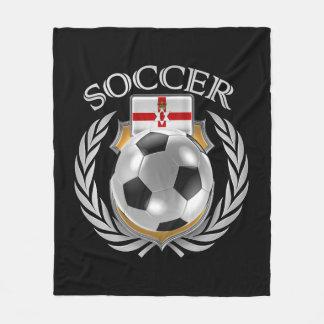 Engranaje de la fan del fútbol 2016 de Irlanda del Manta De Forro Polar