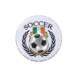 Engranaje de la fan del fútbol 2016 de Irlanda Latas De Caramelos