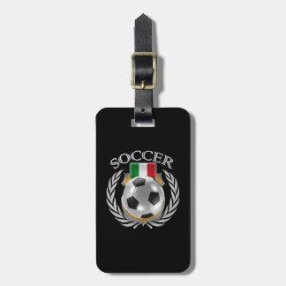 Engranaje de la fan del fútbol 2016 de Italia Etiqueta De Maleta