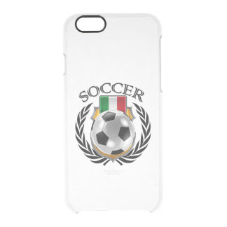 Engranaje de la fan del fútbol 2016 de Italia Funda Clearly™ Deflector Para iPhone 6 De Uncommon