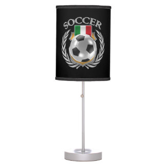 Engranaje de la fan del fútbol 2016 de Italia Lámpara De Mesa