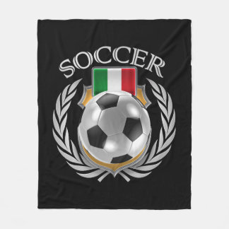 Engranaje de la fan del fútbol 2016 de Italia Manta Polar