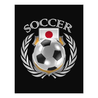 """Engranaje de la fan del fútbol 2016 de Japón Folleto 8.5"""" X 11"""""""