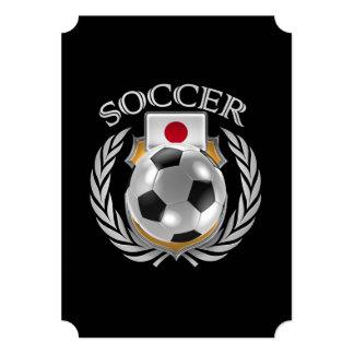 """Engranaje de la fan del fútbol 2016 de Japón Invitación 5"""" X 7"""""""