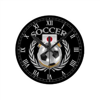 Engranaje de la fan del fútbol 2016 de Japón Reloj Redondo Mediano