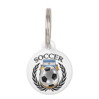 Engranaje de la fan del fútbol 2016 de la identificador para mascota