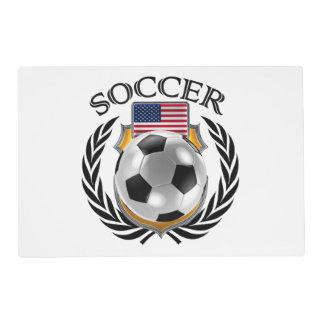 Engranaje de la fan del fútbol 2016 de los salvamanteles