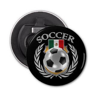 Engranaje de la fan del fútbol 2016 de México Abrebotellas Redondo