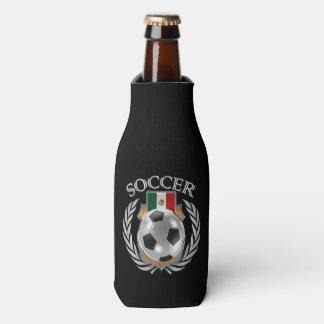 Engranaje de la fan del fútbol 2016 de México Enfriador De Botellas