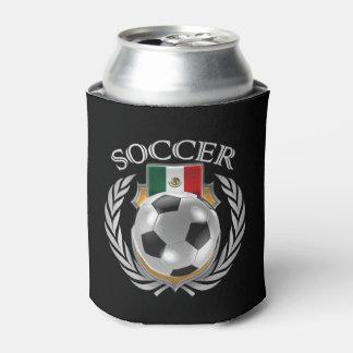 Engranaje de la fan del fútbol 2016 de México Enfriador De Latas