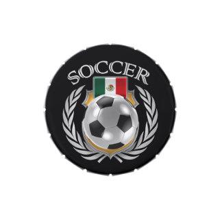 Engranaje de la fan del fútbol 2016 de México Latas De Dulces